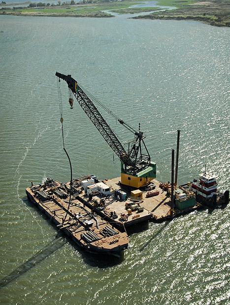 Longitude 123 Decommissioning