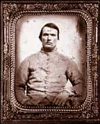 Photo of a Confederate soldier.