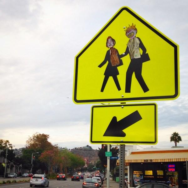 Street Art- Walk Sign Longlistshort