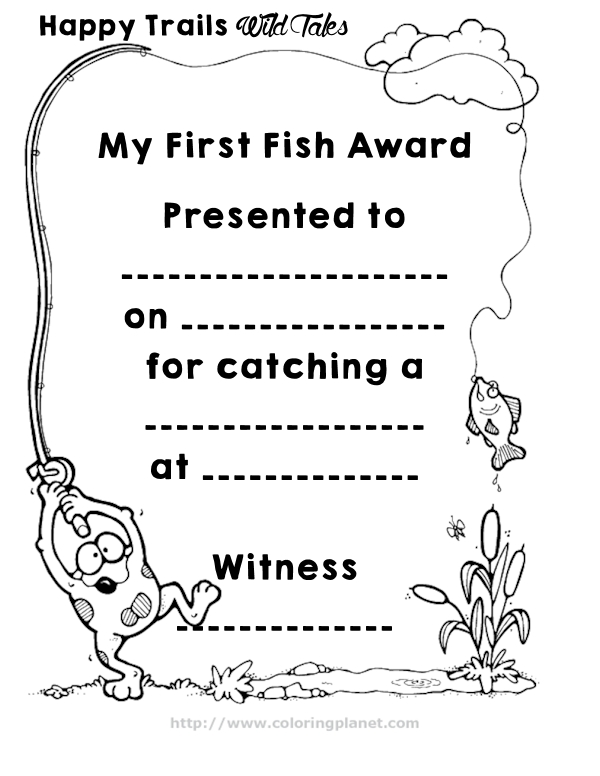 Coloring Contest Certificate Award Templates Coloring Pages