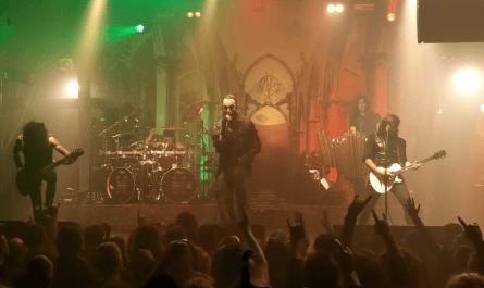 Moonspell Paris live 2019