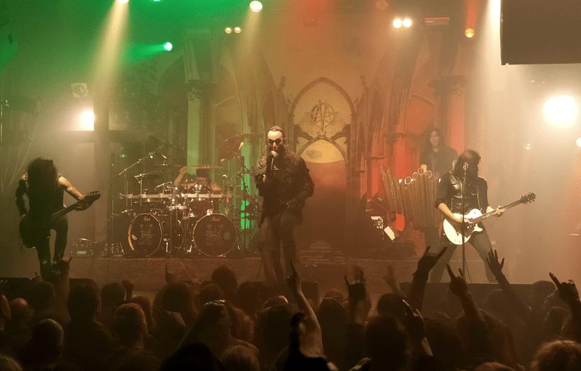 Moonspell + Rotting Christ + Silver Dust // La Machine, Paris // 01-11-2019
