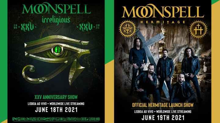 Moonspell concert livestream