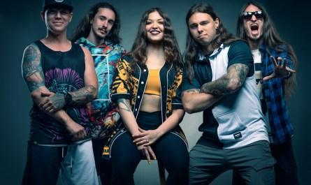 Sicksense feat Vicky Psarakis band picture