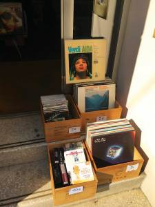 Vienna record shop Allegro