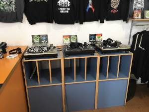 Dynamic record shop Vienna