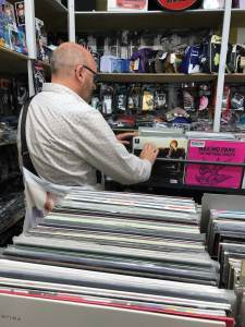 Vienna record shop Record bag