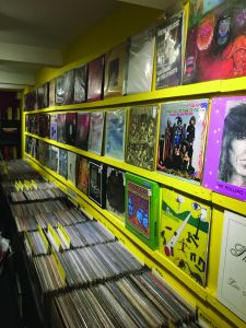 Wall Of Sound record shop Leeds