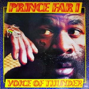 Prince Far I - Voice Of Thunder