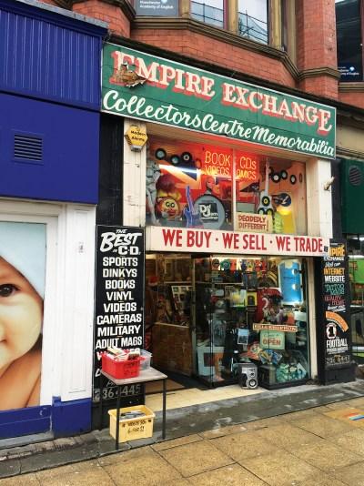 Empire Exchange Manchester Record Shop