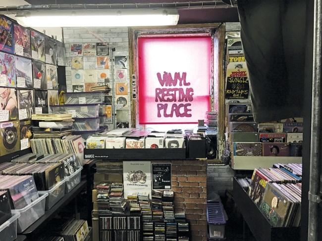 Vinyl Resting Manchester