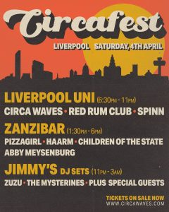 Circa Waves Circa Fest line-up