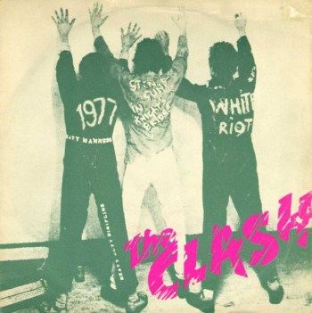 WHITE RIOT The Clash