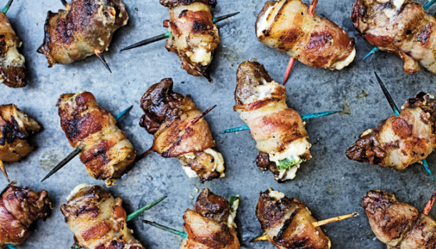 Bacon Jalapeno Dove Poppers