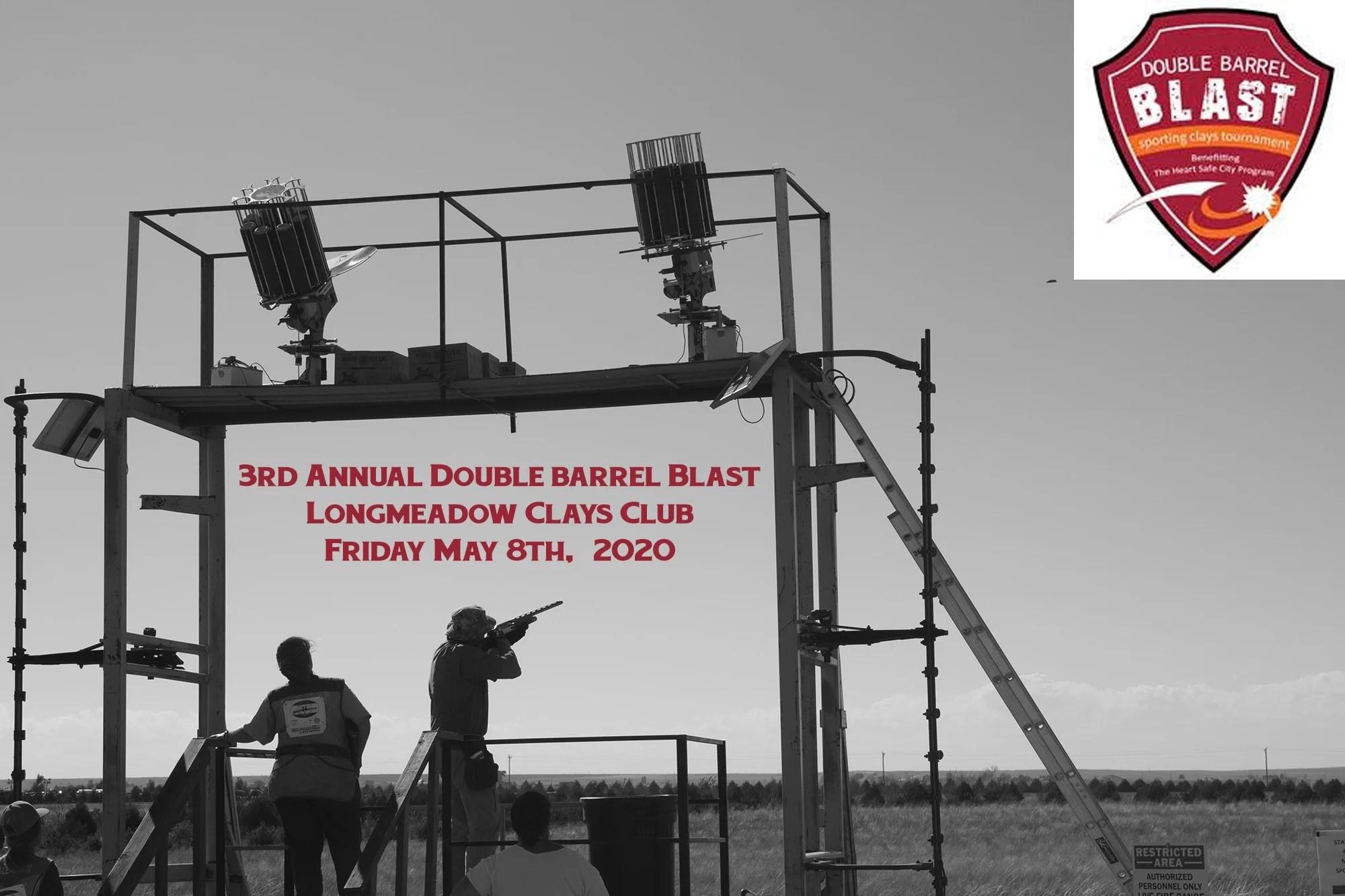 Double Barrel Blast 2020 Event Flyer