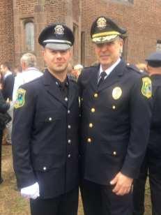Officer Pellerin Academy graduation