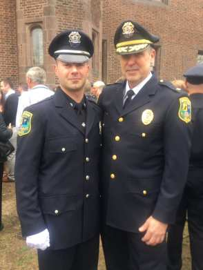 Officer Pellerin Academy graduation
