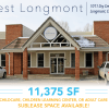 11,375 sf Childcare for Sublease