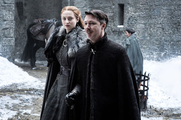 Littlefinger and Sansa Stark in 'The Queen's Justice