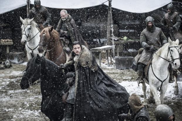 Ser Davos and Jon Snow set to travel in the chilling winter in the episode Stormborn