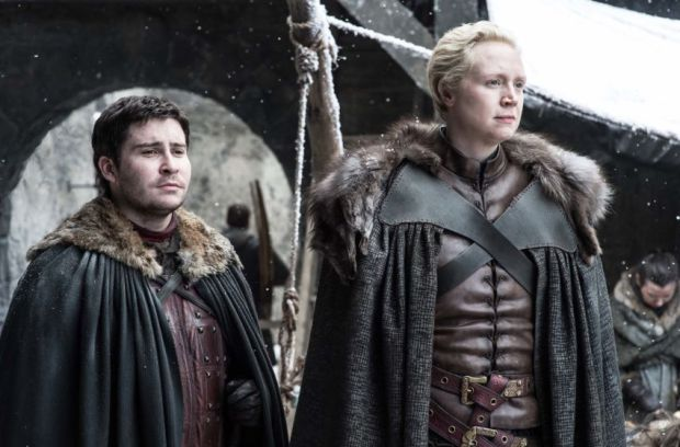 Brienne and Podrick in Game of Thrones Season 7 Episode 4