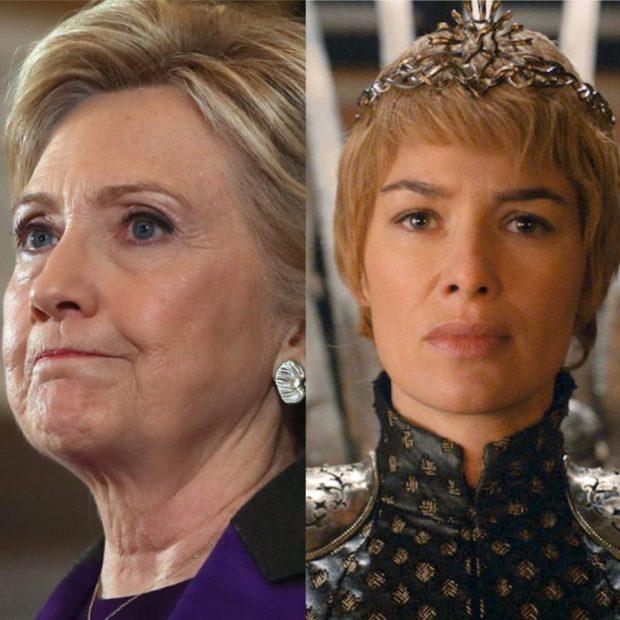 Hillary Clinton Cersei Lannister