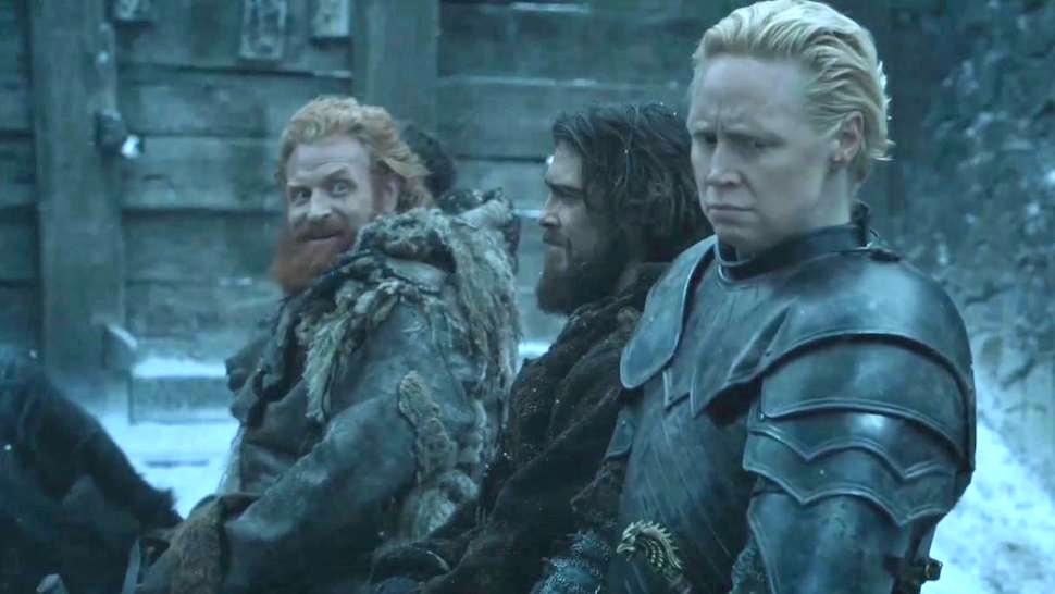 Tormund and Brienne of Tarth