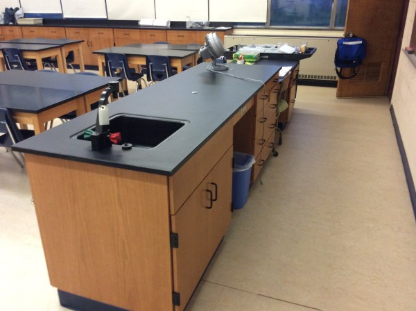 Longo Renovates Science Lab Classrooms Nj Middle School