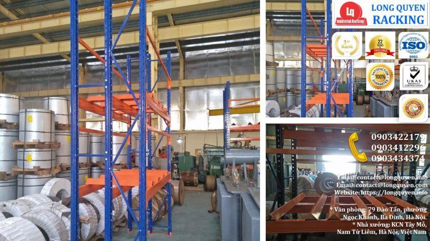 Kệ Phụ Tùng Thiết Bị Điện lắp tại công ty Biến Thế Hà Nội (3)