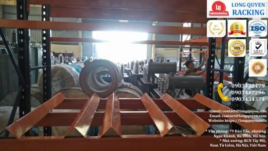Kệ Phụ Tùng Thiết Bị Điện lắp tại công ty Biến Thế Hà Nội (9)