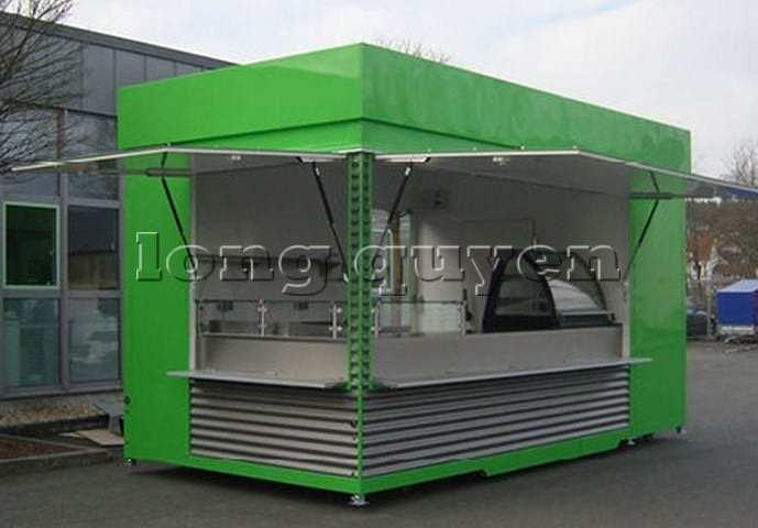 Kios bán hàng di động nhà lắp ghép (4)
