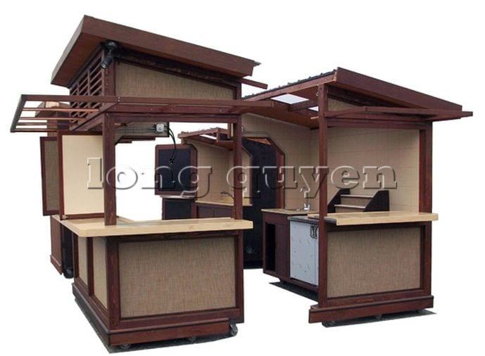 Kios bán hàng di động nhà lắp ghép (7)