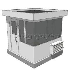 Nhà bảo vệ bốt gác bảo vệ nhà di động nhà lắp ráp