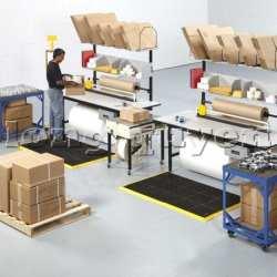 Bàn thao tác đóng gói bàn sản xuất công nghiệp