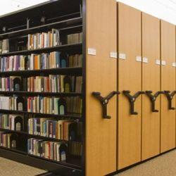 Giá kệ thư viện sàn di động