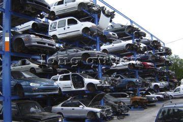 Giá kệ Cantilever lưu trữ ô tô cũ trong các kho bãi (5)