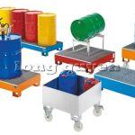Pallet sắt khay hứng dầu ST800 pallet sắt để thùng phuy
