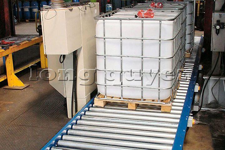 Băng chuyền băng tải pallet chứa hàng (8)