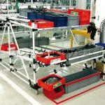 Hệ thống ống thép với khớp kẹp lắp ráp linh hoạt