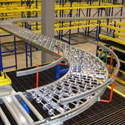Băng chuyền con lăn công nghiệp nhặt hàng (Picking Conveyor)