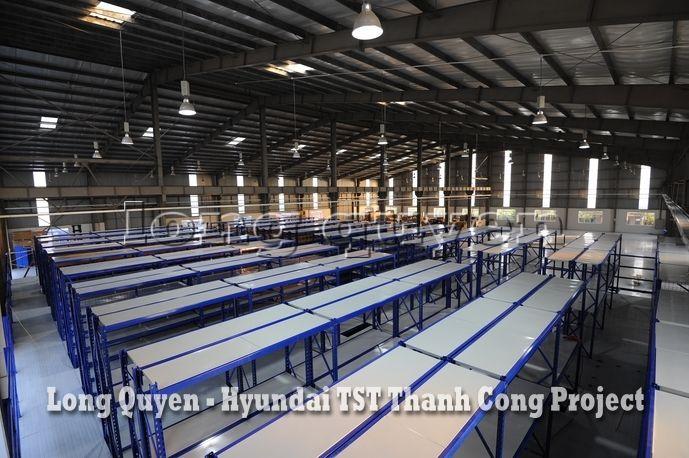 Giá Kệ Kho Phụ Tùng Sàn Tầng Lửng Công ty Hyundai TST Thành Công (4)