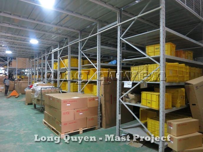 Giá Kệ Vật Tư Kho Tầng Lửng Công ty MAST 6
