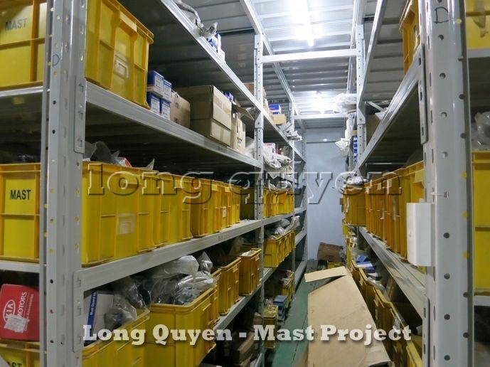 Giá Kệ Vật Tư Kho Tầng Lửng Công ty MAST 9