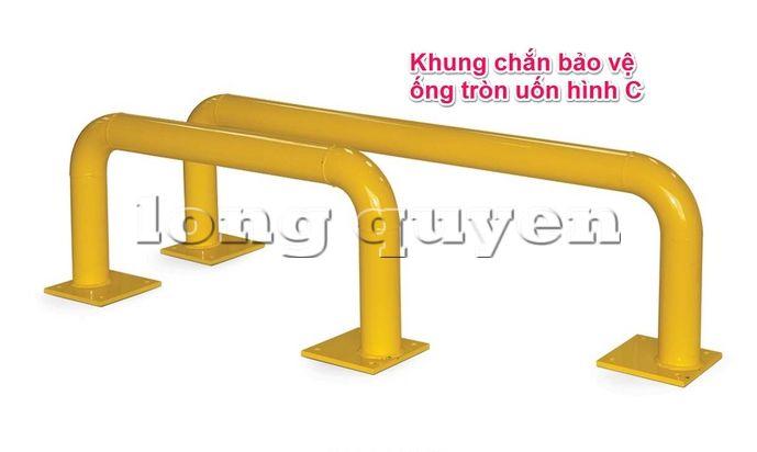 Khung chắn đầu hồi bảo vệ giá kệ pallet (1)