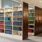 Giá kệ thư viện di động giá kệ hồ sơ tài liệu di động