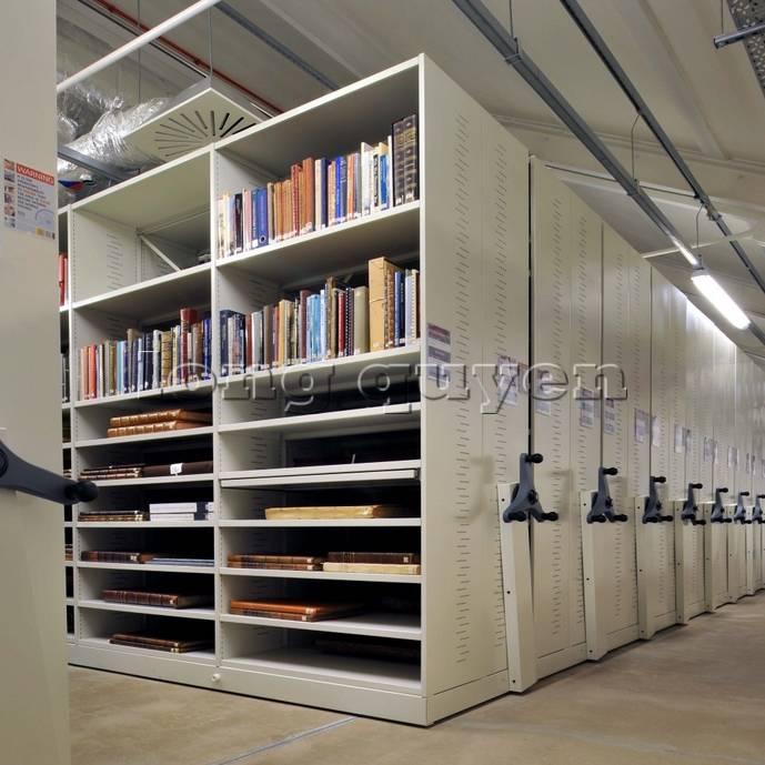 Giá kệ thư viện di động gia kệ chạy trên ray (10)