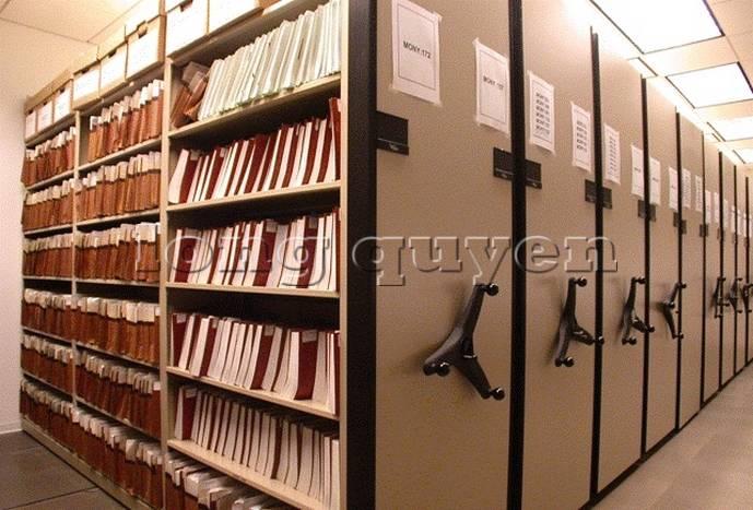 Giá kệ thư viện di động gia kệ chạy trên ray (5)