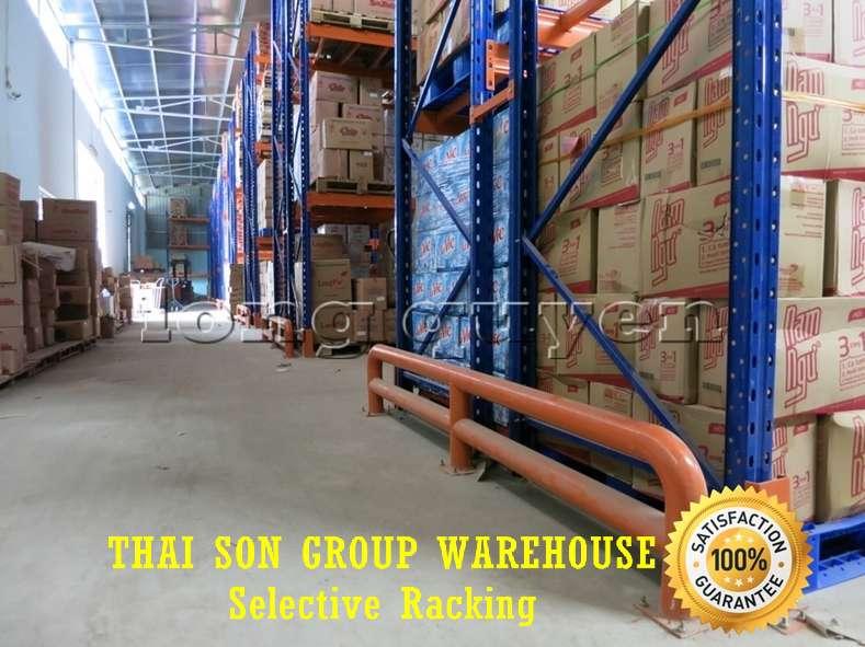 Kệ chứa hàng pallet lựa chọn Selective Pallet Rack kho Thái Sơn Group (2)b