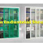 Tủ sắt cánh lưới cửa trượt MSDC tủ lưu trữ đa năng