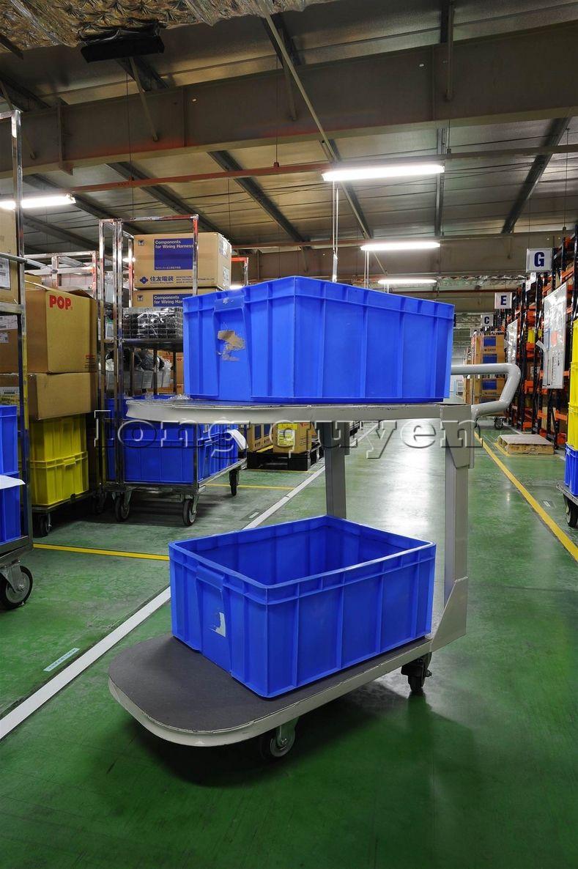 Xe đẩy vật tư đa năng xe đẩy inox trong kho hàng công ty SD Việt Nam (5)